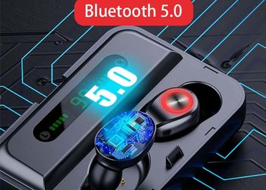 LED Display In Ear Wireless Earbuds With 3500mA Charging Case / Power Bank