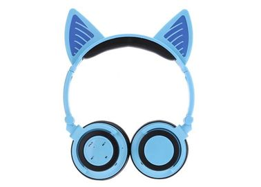 China Deep Base Sound Wireless Stereo Headphones Blue Color 40MM Speaker factory
