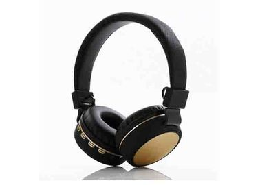 China Black Overhead Wireless Stereo Headset . Over Ear Noise Cancelling Headphones factory