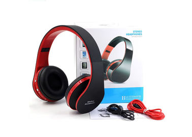 China Durable Noise Cancelling Bluetooth Stereo Headset With Chargeable Battery factory